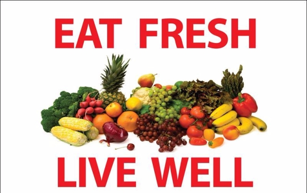 eat freah live well
